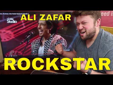 ALI ZAFAR - ROCKSTAR Coke Studio REACTION!!! *From Pakistan* Season 8, Episode 2