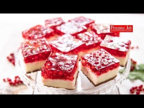 Ciasto Grysikowe Z Czerwona Porzeczka I Galaretka Prosty Przepis