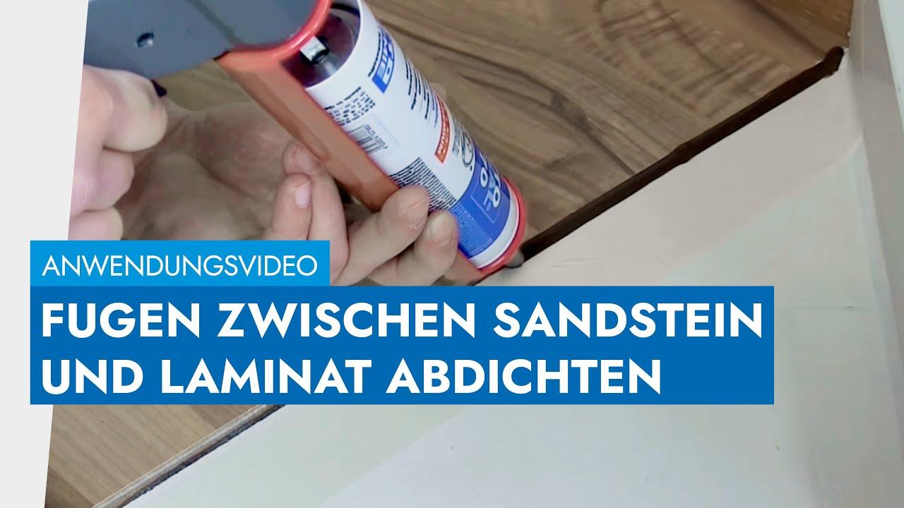 Fugen Zwischen Sandstein Und Laminat Perfekt Abdichten Mit OTTOSEAL® S 70