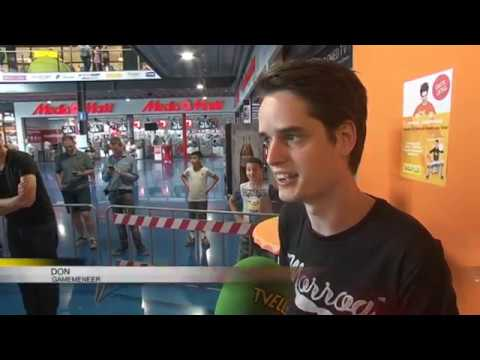 TVEllef: Gamemeneer Don was in Roermond