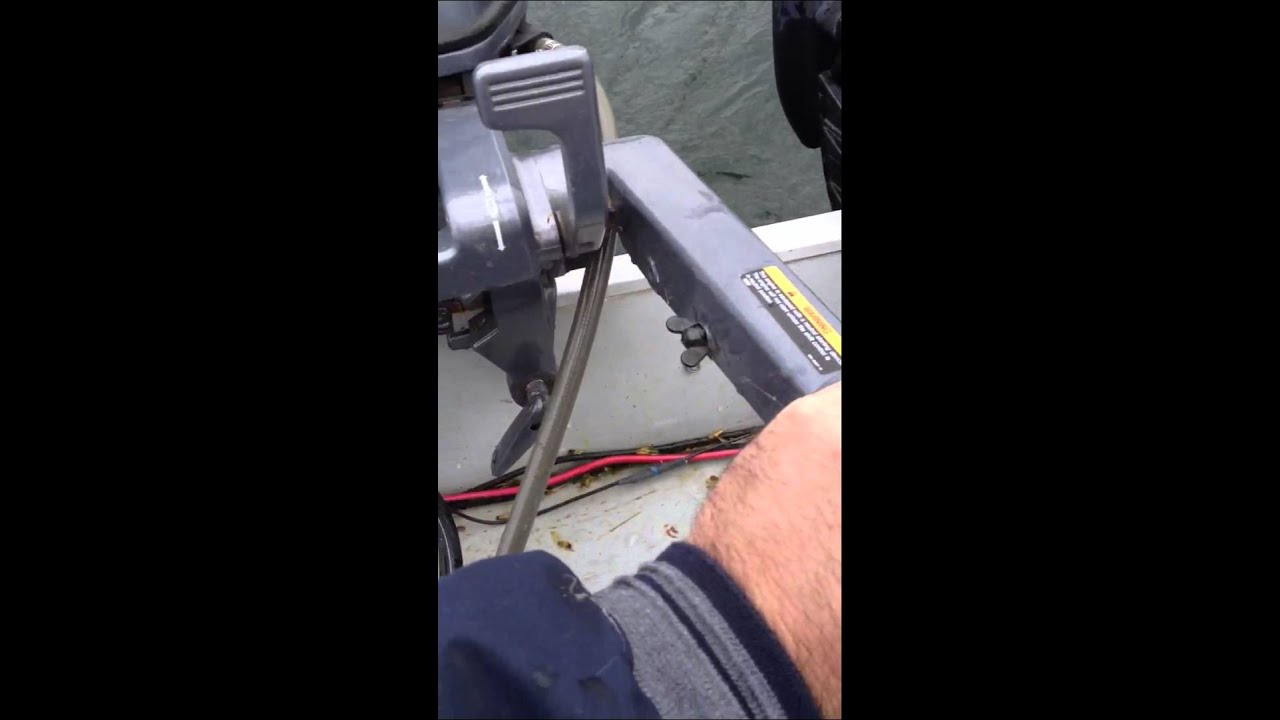 30 HP Yamaha two stroke cuts out