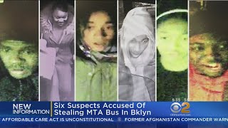 Six Suspects Accused Of Stealing MTA Bus, Riding Through City
