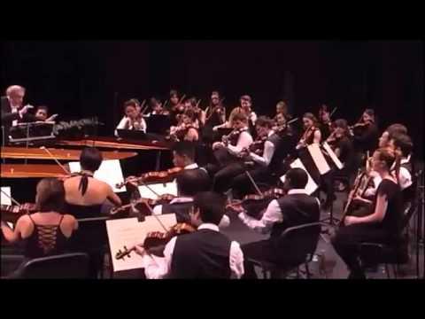 Концерт для трёх фортепиано Моцарта. Исполняют Денис Мацуев, Валерий Гергиев, Даниил Трифонов