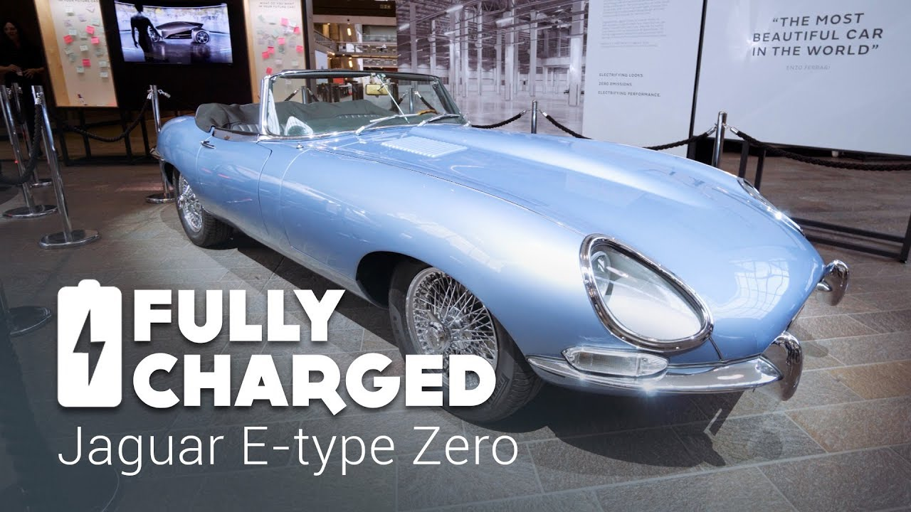 jaguar e type zero fully charged youtube. Black Bedroom Furniture Sets. Home Design Ideas