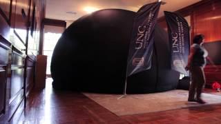 Morehead's Mobile Planetarium Dome