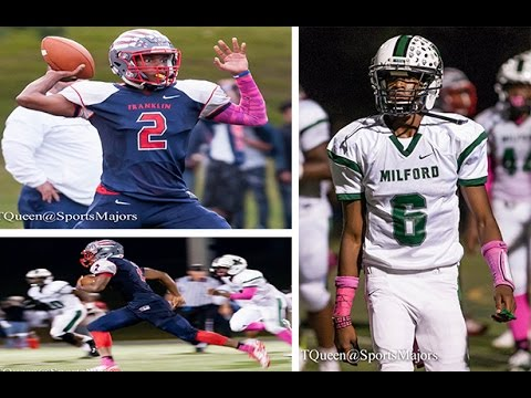 Franklin vs Milford Mill Academy High School Football 2016