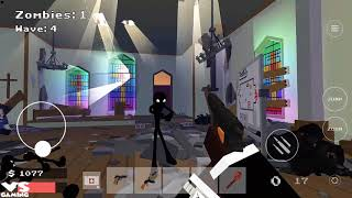 Stickman Combat Pixel Edition New Stickman Game - Android GamePlay #12 HD