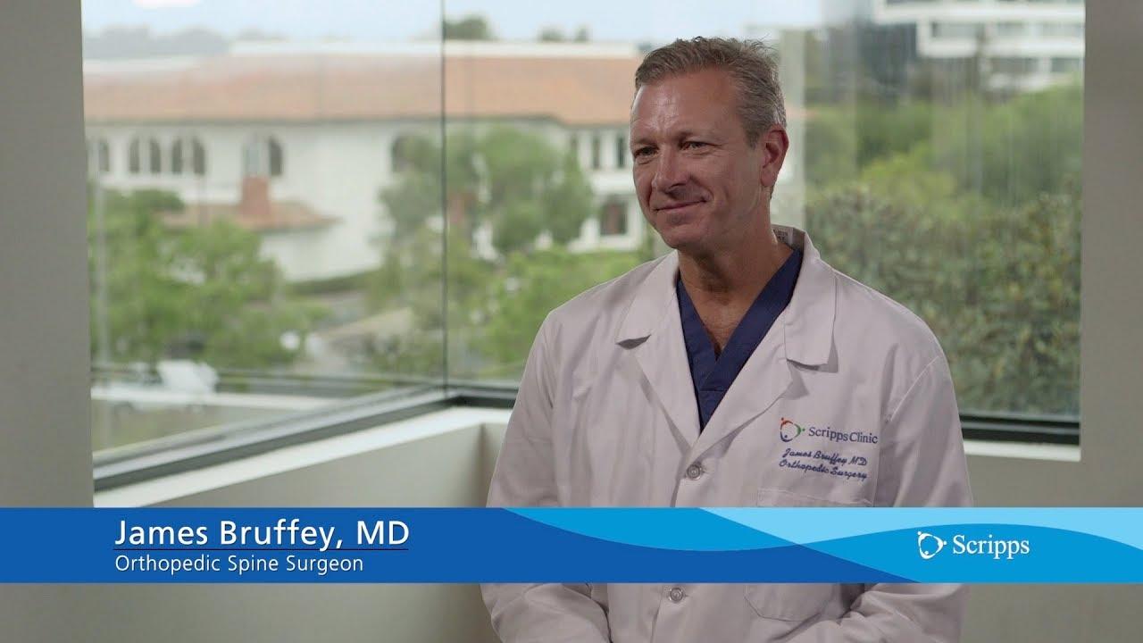 Scripps Orthopedic Spine Surgeon James Bruffey, MD #Orthopedicsurgery