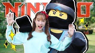 닌자고 변신!! 초콜릿 사탕 과자 서프라이즈 에그 숨바꼭질 놀이 Ninjago – 지니