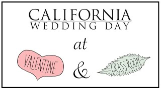 California Wedding Day @ Grass Room & Valentine DTLA