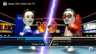 Wii Sports - Boxing - Happy Kids VS Ryan -  Best Games For Kids - Happy Kids Games And Tv - 1080p