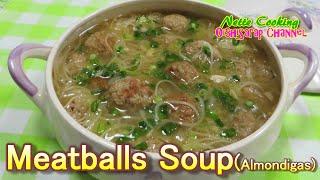 Meatballs Soup#2 (with Japanese soumen noodles)