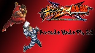 Street Fighter X Tekken Arcade Mode Guy Cody Pt 2 2