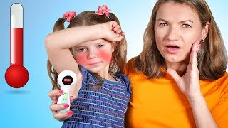 Sick Song   Boo Boo Song   Mommy is Sick   Children Songs & Nursery Rhymes – Nicole and mama