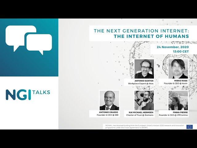 NGI Talk  - The Internet of Humans