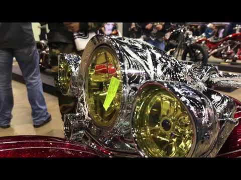 El Chapo Motorcycle At The Chicago Progressive International Motorcycle Show 2018