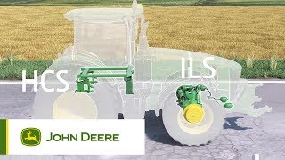 John Deere 8R Traktoren - Fahrwerk (ILS/ActiveSeat/HCS+) Animation
