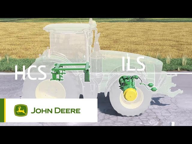 John Deere 8R Tractors - Suspension (ILS/ActiveSeat/HCS+) Animation