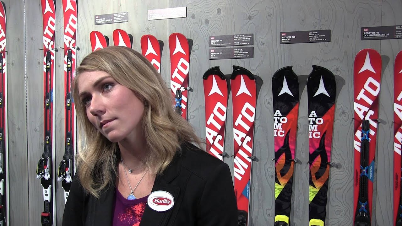 Mikaela Shiffrin im Sportreport-Interview - YouTube