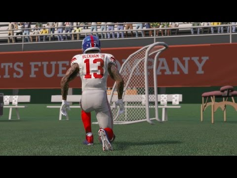 Can I Recreate Odell Beckham's Amazing TD Catch vs the Packers & then Embrace the FG Net Afterwards?