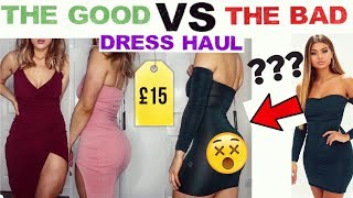 £15 CHRISTMAS/NEW YEAR DRESS HAUL TRY-ON | THE GOOD & THE BAD!