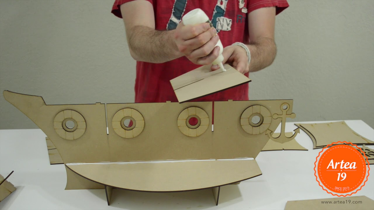 Base para cupcakes en forma de barco para mesa de centro o - Bases para cupcakes ...