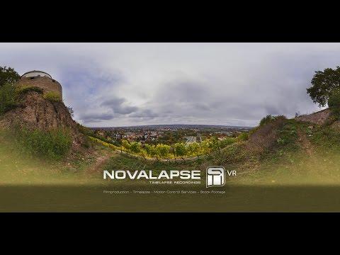 8K 360° VR Timelapse Radebeul