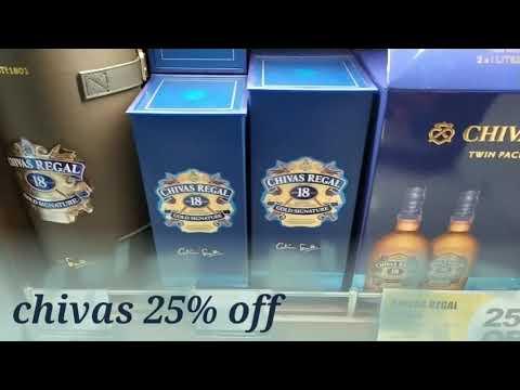 Dubai 🔥Duty Free🔥 Liquor  Current Rate Promotion Cheep? #Dubai #liquor
