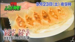 たかが餃子 されど餃子!! 奥深き餃子をめぐる冒険!? 9/23(土)『世界ふし...