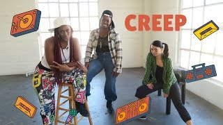Creep | Dance Workout Choreography | TLC | Old School Hip Hop Tutorial