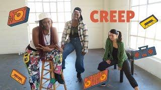 Creep | Dance Workout Choreography | TLC | Old School Hip Hop Tutorial