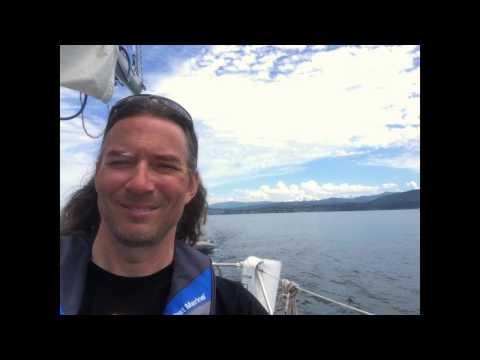 The Molly Jim Sails the San Juan Islands 2016