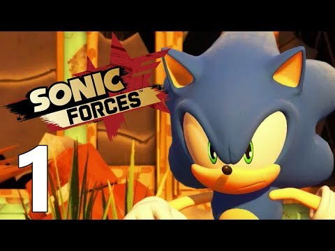SONIC FORCES FR #1
