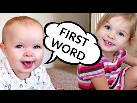 Download Youtube: 👶🏻BABY's FIRST WORD!!!