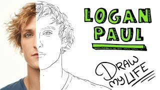LOGAN PAUL | Draw My Life (Be a Maverick)