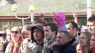 Рок-концерт на площади Химиков