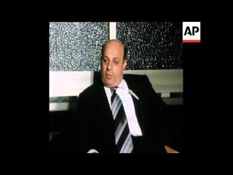 SYND 6 8 74  INTERVIEW WITH TURKISH CYPRIOT LEADER, RAUF DENKTASH