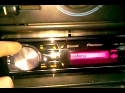 Pioneer DEH-8400BT - обзор (без звука)