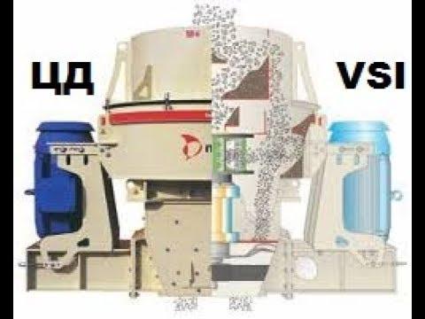 Ударная роторная дробилка [устройство и принцип работы] VSI Метсо Минералс