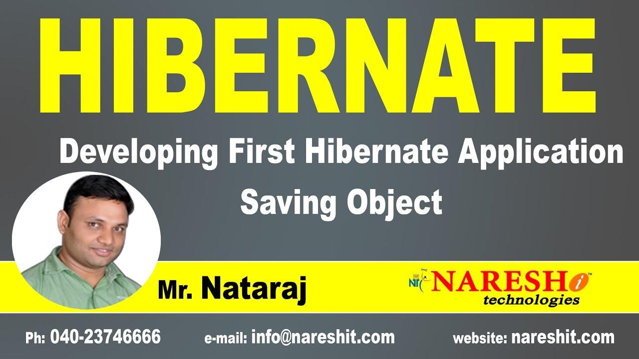 HIBERNATE NOTES BY NATARAJ PDF