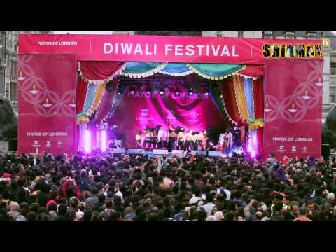 SHIAMAK LONDON students for Diwali Celebrations at Trafalgar Square