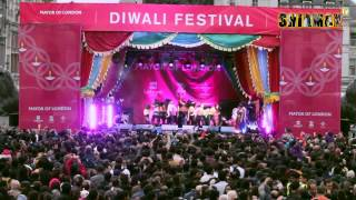 SHIAMAK LONDON students for Diwali Celebrations at Trafalgar Square