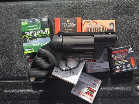 Here Come The Judge -.410 Defensive Ammo Testing