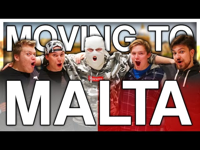 ALL MY FRIENDS ARE MOVING TO MALTA