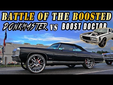 DONKMASTER VS BOOST DOCTOR REMATCH! Turbo LSX Donk vs Twin Turbo Box Chevy Grudge Race