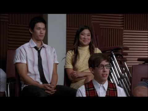 Glee - Will tells New Directions he's starting booty camp and not directing the musical 3x02