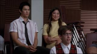 Glee - Will tells New Directions he