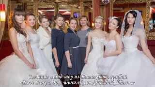 """Показ платьев на выставке """"Всё для свадьбы в один день"""" (г. Кириши)"""