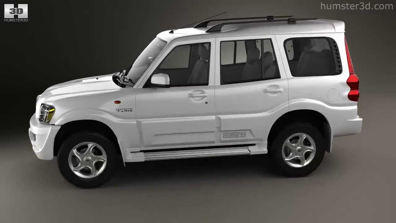 Mahindra Scorpio 2009 By 3d Model Store Humster3d Com
