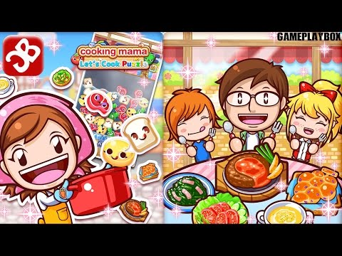Cooking Mama Let's Cook Puzzle (By Office Create Corp) - iOS/Android - Gameplay Video - 동영상